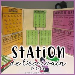Station de l'écrivain - 1er cyle