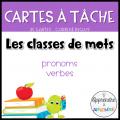 CAT - Le verbe et le pronom de conjugaison