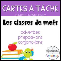 CAT - La préposition, la conjonction et l'adverbe