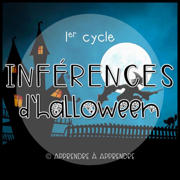 Inférences d'Halloween - 1er cycle