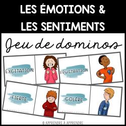 Émotions et sentiments - Jeu de dominos