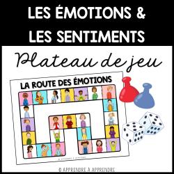 Émotions et sentiments - Plateau de jeu