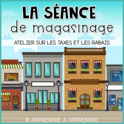 La séance de magasinage