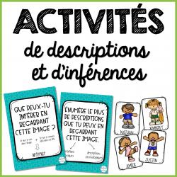 Activités de descriptions et d'inférences