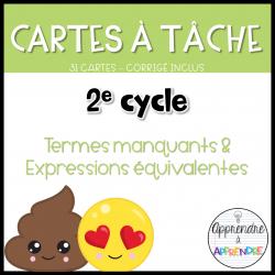 CAT - Termes manquants - 2e cycle