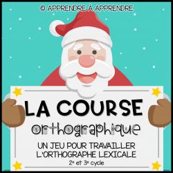 La course orthographique - Noël