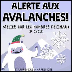Alerte aux avalanches !