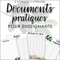 Documents pratiques pour enseignants 2019-2020