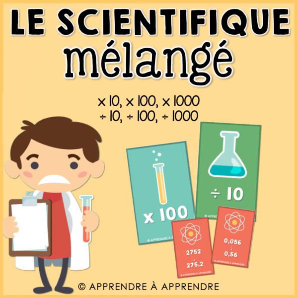 Le scientifique mélangé
