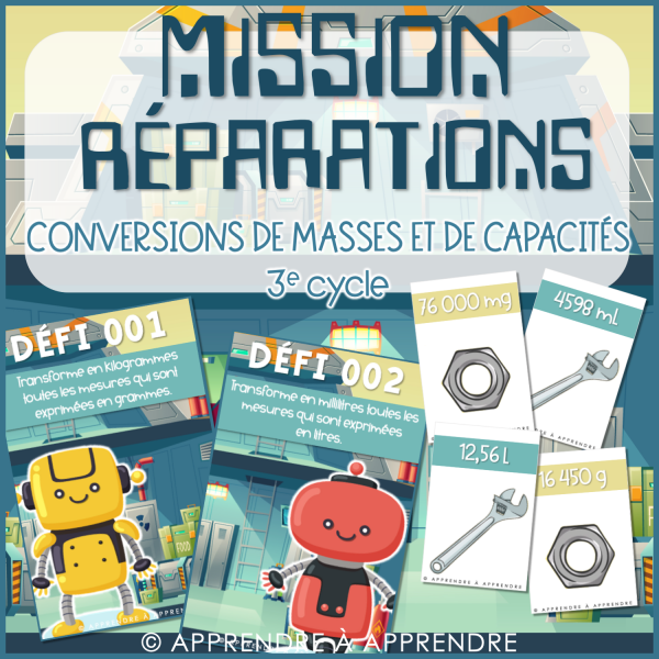 Mission réparations