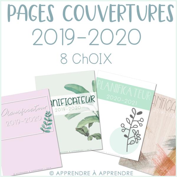Pages couverture 2019-2020