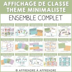 Affichage de classe minimaliste - ensemble complet