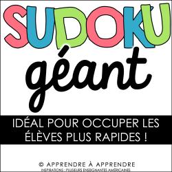 Sudoku géant