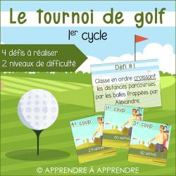 Le tournoi de golf