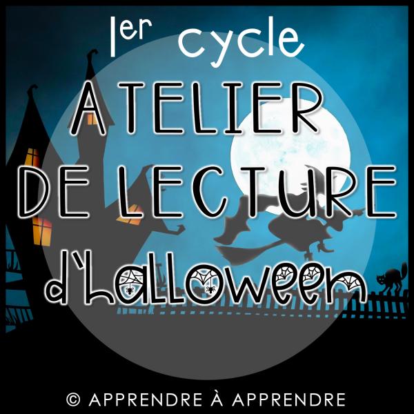 Atelier de lecture d'Halloween - 1er cycle