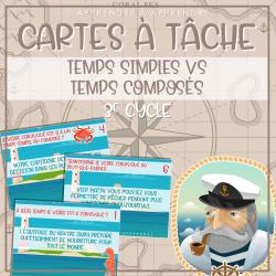 Cartes à tâche temps simples VS temps composés