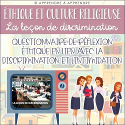 ECR - La leçon de discrimination