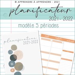 Planificateur ens. 2021-2022 5 pér. (couleurs)