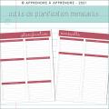 Planificateur préscolaire AM/PM 2021-2022