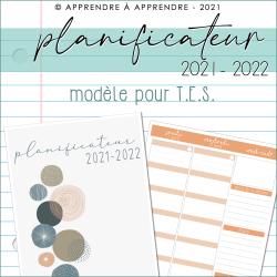 Planificateur TES 2021-2022