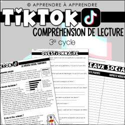 Compréhension de lecture Tiktok