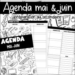 Agenda mai-juin