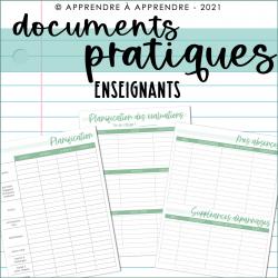 Documents pratiques 2021-2022 / Enseignants