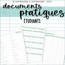 Documents pratiques 2021-2022 / Étudiants