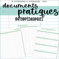 Documents pratiques 2021-2022 / Orthopédagogues