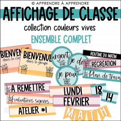 Affichage de classe - Ensemble complet