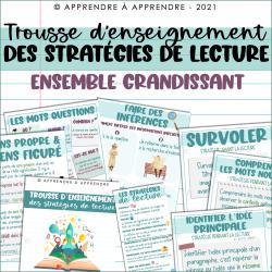 Stratégies de lecture - ENSEMBLE GRANDISSANT