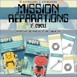 Mission réparations
