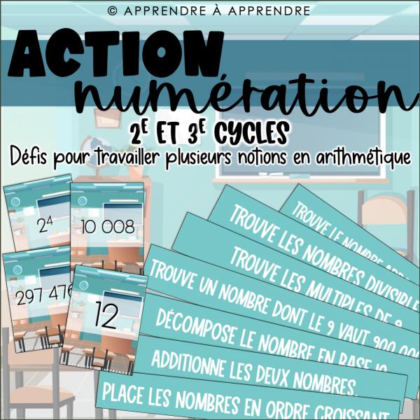 Action numération
