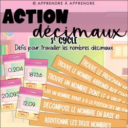 Action décimaux