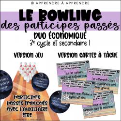Le bowling des participes passés - DUO ÉCONOMIQUE