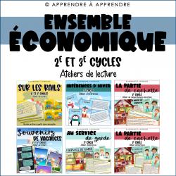 Ateliers de lecture 2e-3e cycles - ENS. ÉCONOMIQUE