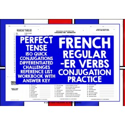 FRENCH -ER VERBS CONJUGATION PRACTICE #2