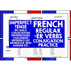 FRENCH -ER VERBS CONJUGATION PRACTICE #3