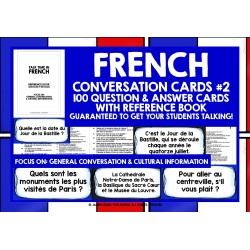 FRANÇAIS FRENCH SPEAKING CARDS #2