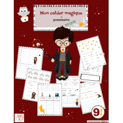 Cahier de grammaire 1er cycle : Harry Potter