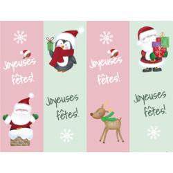 Signets Joyeuses fêtes! Noël