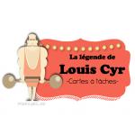 Cartes à tâches - Louis Cyr