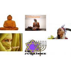 Les religions du monde- Ensemble de 5 Powerpoint