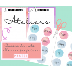Atelier versatile - Classes de mots
