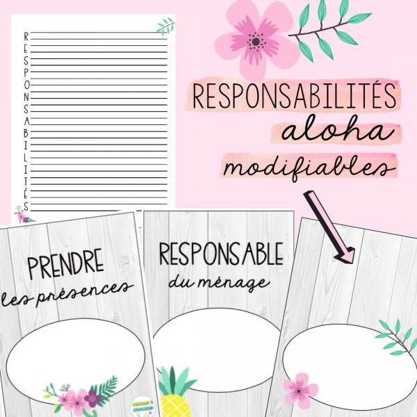 Responsabilités Aloha