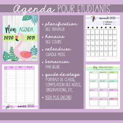 Agenda Aloha -Étudiant