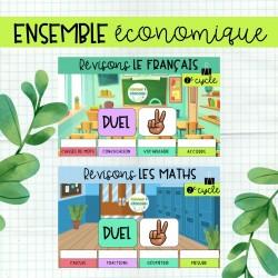 Jeux de révision 2e cycle - Français et maths