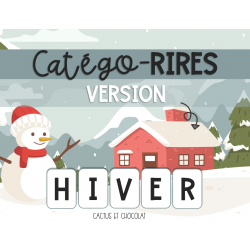 Catégo-rires / Version hiver