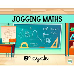 Jogging mathématique - 2e cycle