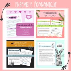 Ensemble économique - Compréhensions de lecture
